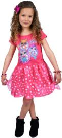LOL verkleedjurk Surprise jurk roze