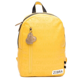 Zebra Rugzak Love Yellow (m) - sale