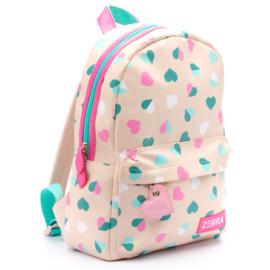 Zebra Rugzak Hearts Pink (m) - sale