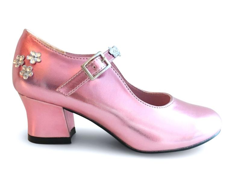 Prinsessen Schoenen Pink Luxe + gratis armbandje