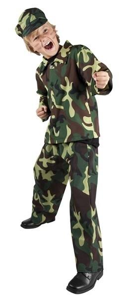 Leger verkleedpak army Kind