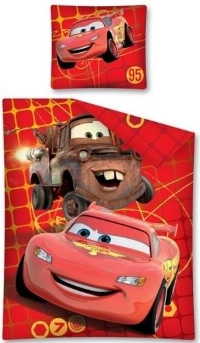 Cars Dekbed Rood Ruit