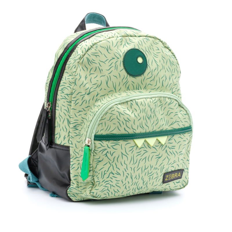 Zebra Rugzak Monster Green - sale