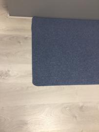 Budget effen speelkleed blauw 90x150cm
