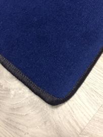 Effen speelkleed marine blauw  100x150cm