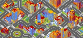 Speelkleed Big City op maat