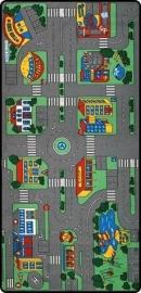 Speelkleed Stadplan op maat
