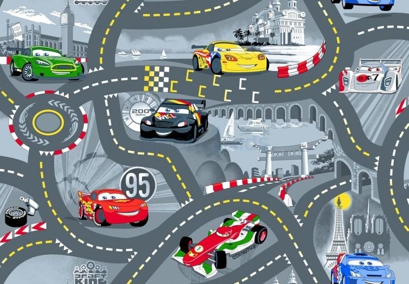 Speelkleed World of Cars II Grijs