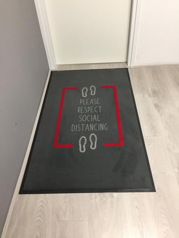 Anderhalve meter deurmat 90x150cm