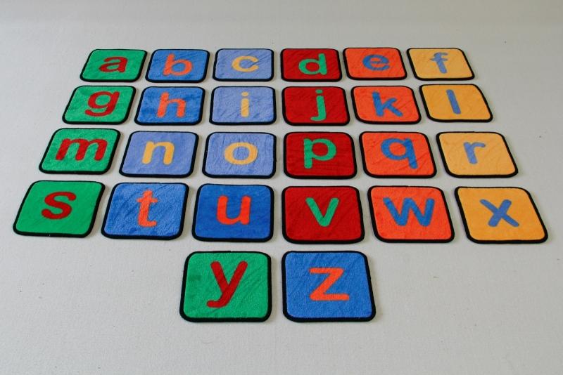 Alfabet Zitmatjes 30x30cm