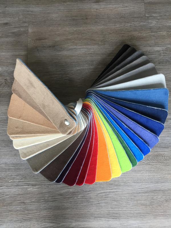 Effen speelkleed in laten kleuren