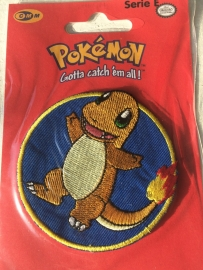 Charmander Pokemon strijkapplicatie
