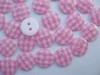 KN02 Ruitje roze 1cm