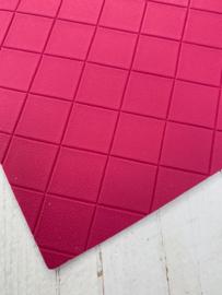 Leer structuur blokken fel roze
