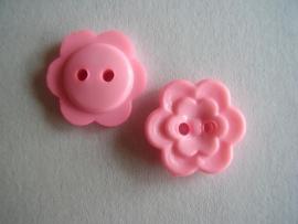 KN179 Roze dubbele bloem