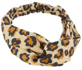 Haarband  tijgerprint