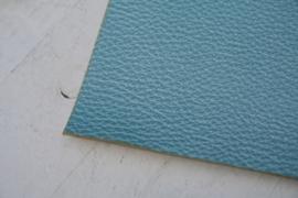 Leer parelmoer structuur blauw