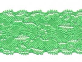 Elastisch kant lente groen  35 mm