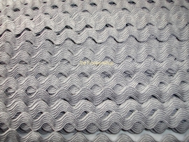 Zigzagband grijs 5mm