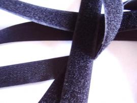Klittenband zwart YKK
