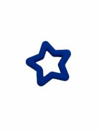 Flatback kraal ster royal blue