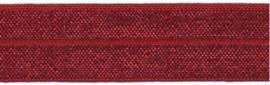 Elastisch biaisband bordeaux 2 cm