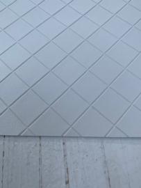 Leer structuur blokken off white