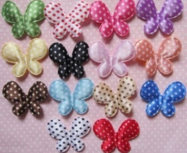 Polkadot vlinder kies jou kleur