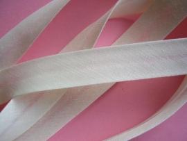Biasband off white-ivoor katoen