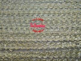Zigzagband ovaal goud 5mm
