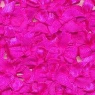 Satijnen strikjes knal roze