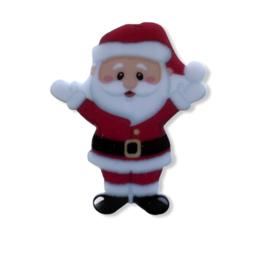 Flatback kerstman