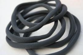 Haarbandje nylon grijs