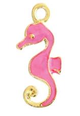 Bedels zeepaardje Gold hot pink