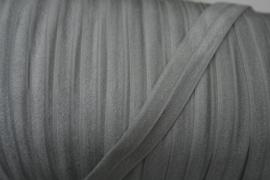Elastisch biasband zilver  (haarband) 1,5cm