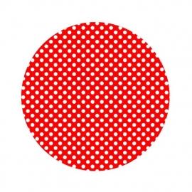 Polkadot rood 50cm