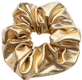 Scrunchies Haarwokkel goud