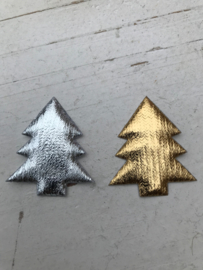 Kerstboom goud of zilver