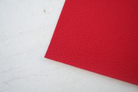 Leer structuur rood