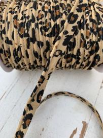 Paspel/pipingband tijger/panter