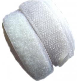 Klittenband wit YKK