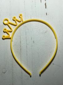 Diadeem kroon geel
