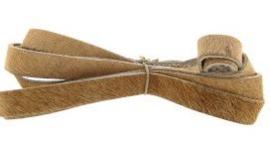 Vacht leer 12mm Bruin