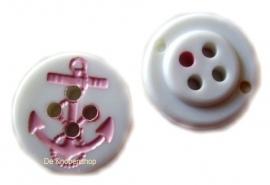 KN396a Anker wit & roze