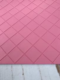 Leer structuur blokken roze