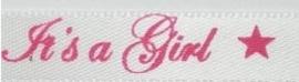 It's a girl satijn lint