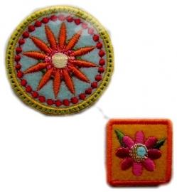 A10 Rond & vierkante bloemen