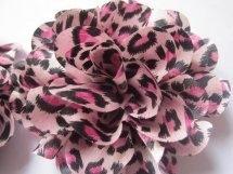 Bloem tijger/roze 11 cm