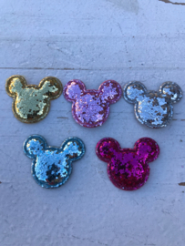 Mickey mouse glitter grof