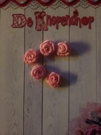 Roosje roze 1 cm (10)